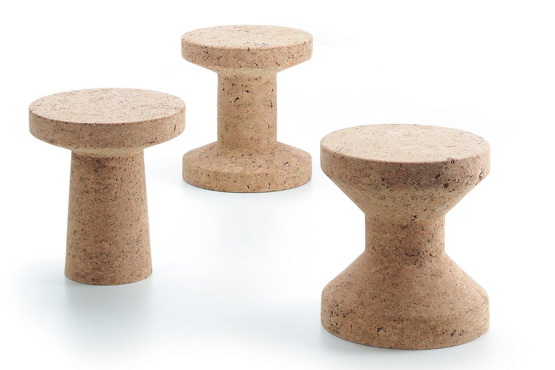 cork family side table stool by jasper morrison for vitra. Black Bedroom Furniture Sets. Home Design Ideas