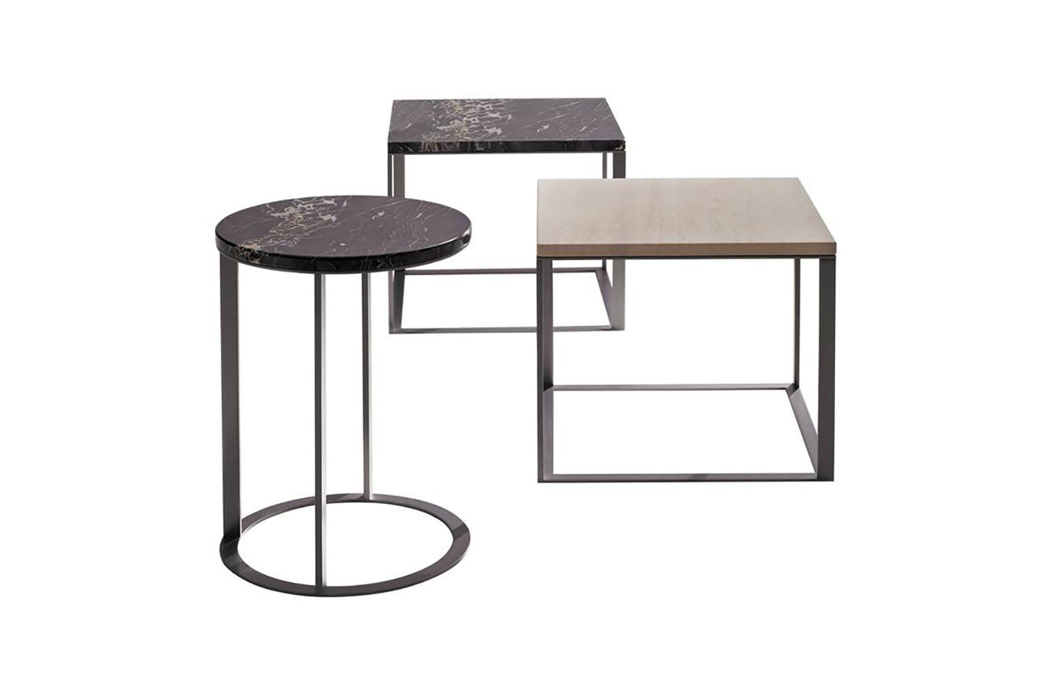 Lithos side coffee table by antonio citterio for maxalto space furniture Side and coffee tables