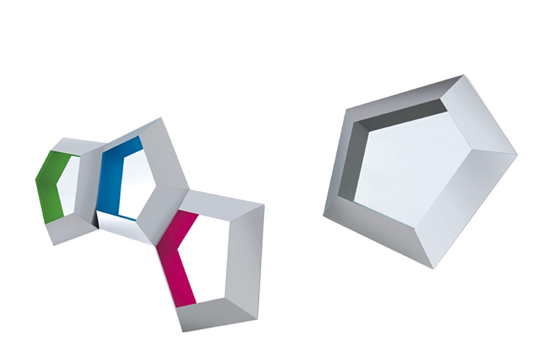 Penthouse Mirror by Marta Giardini for Opinion Ciatti