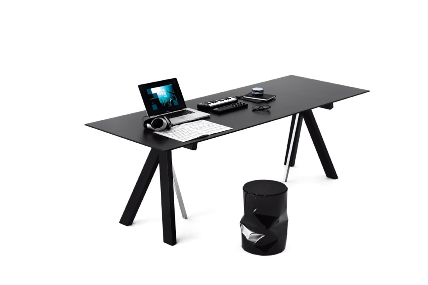 My Pony Trestle Table by Bruno Rainaldi for Opinion Ciatti