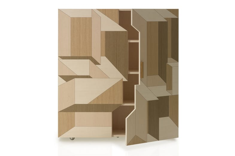 Inlay Storage Unit by Front for Porro