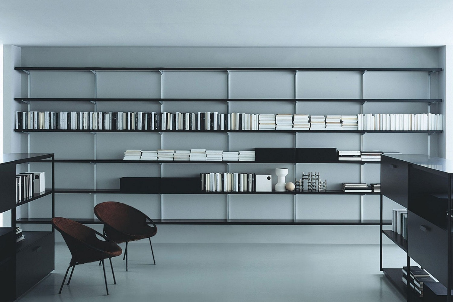 Newtone Wall Mounted Storage by Piero Lissoni for Porro