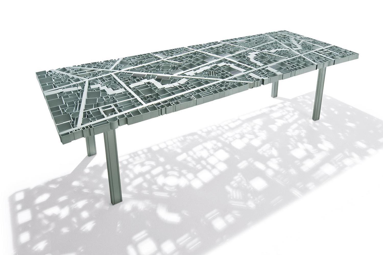 Baghdad Table by Ezri Tarazi for Edra