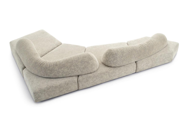 On the rocks sofa by francesco binfare for edra space - Divano flap edra ...