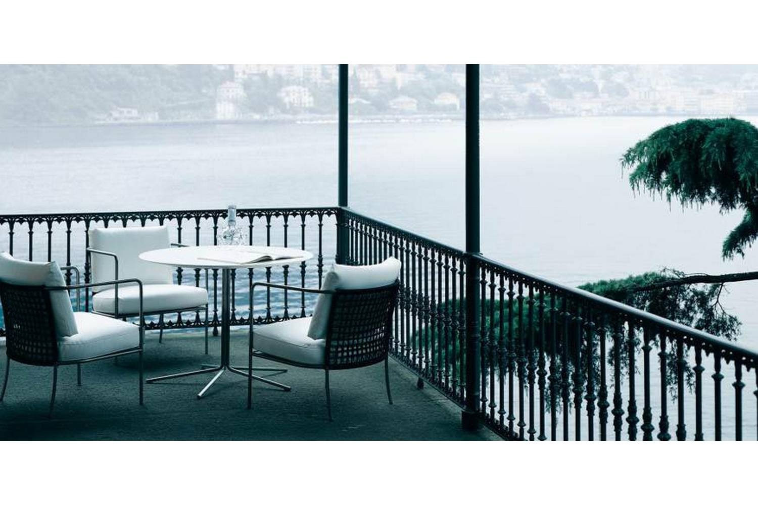 Cafe Outdoor Armchair by Piero Lissoni for Living Divani