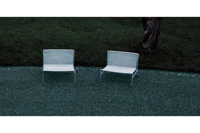 Hi Tech Outdoor Armchair by Piero Lissoni for Living Divani