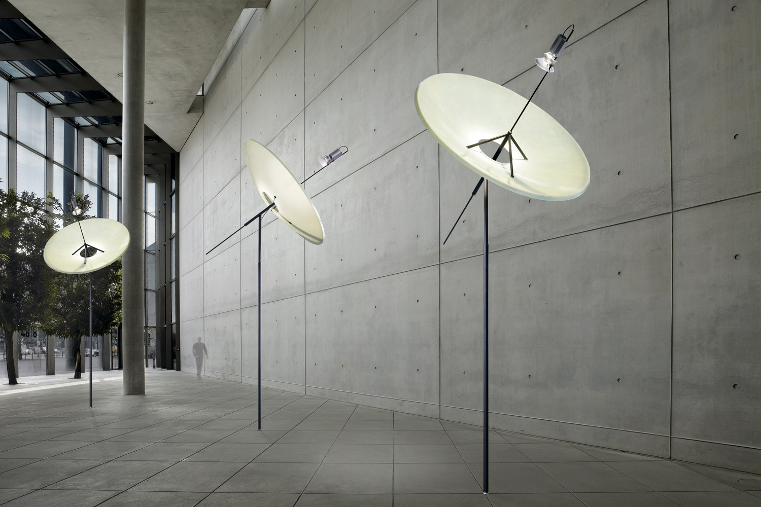 Big Dish Suspension Lamp by Ingo Maurer und Team for Ingo Maurer