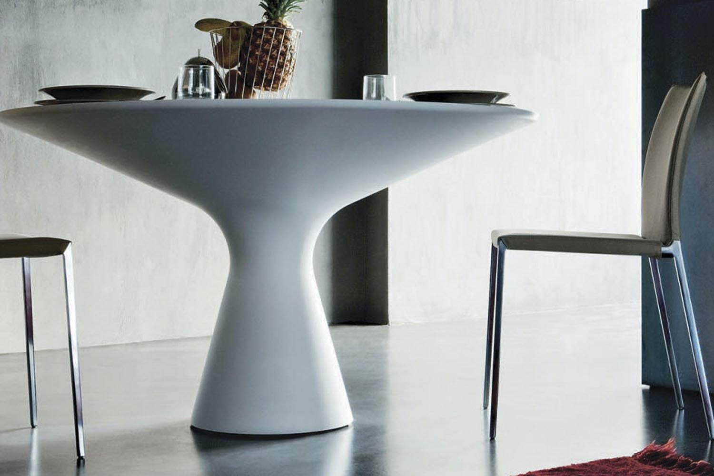 Blanco 2577 Table by Jacopo Zibardi for Zanotta