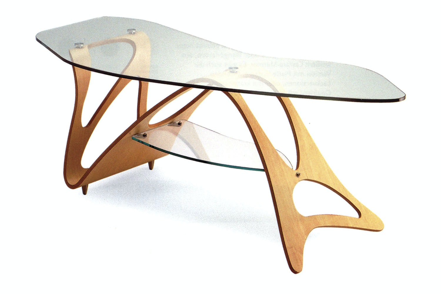 Arabesco Coffee Table by Carlo Mollino for Zanotta