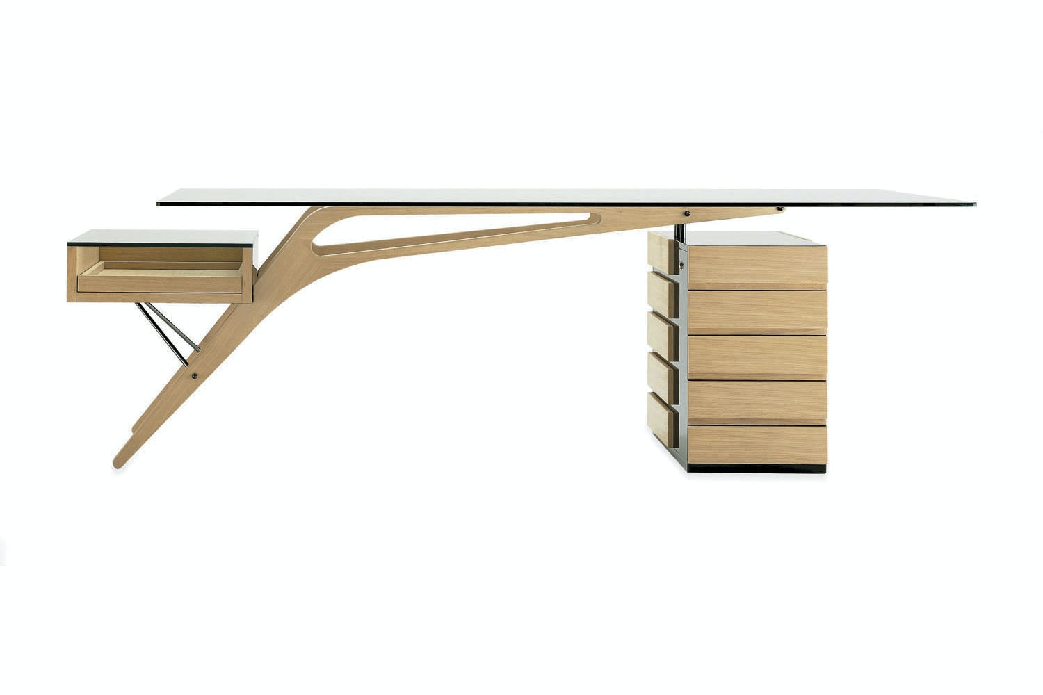 Cavour Desk by Carlo Mollino for Zanotta