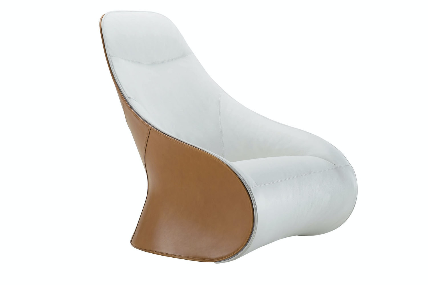 Derby Armchair & Ottoman by Noe Duchaufour Lawrance for Zanotta