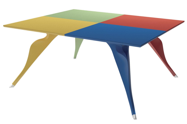 Edizioni Macaone Table by Alessandro Mendini for Zanotta
