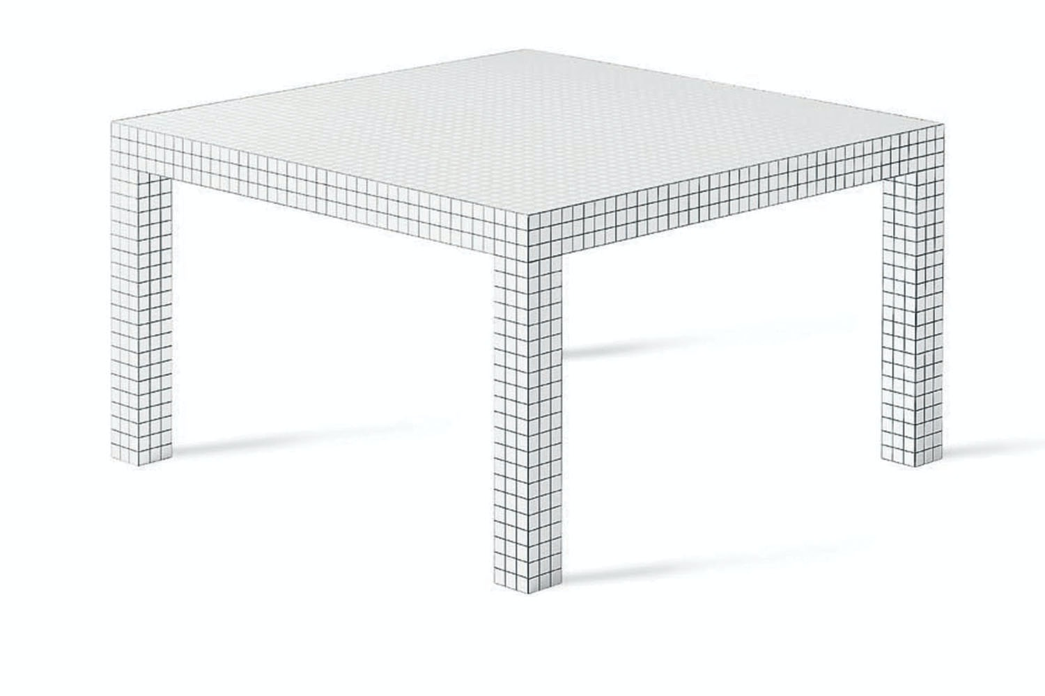 Quaderna 2600 Table by Superstudio for Zanotta