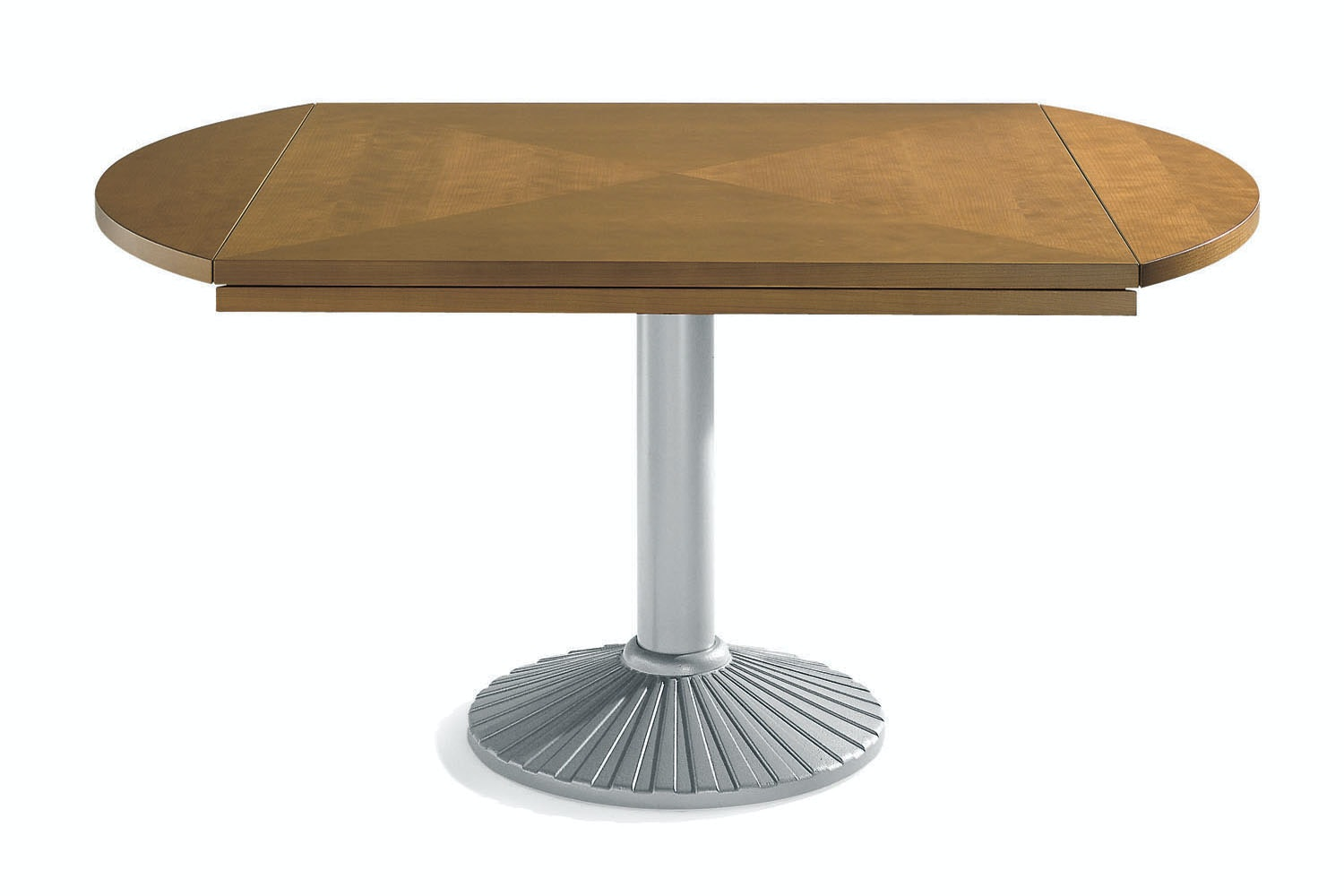 Quadritondo Extension Table by An old piece redesigned for Zanotta