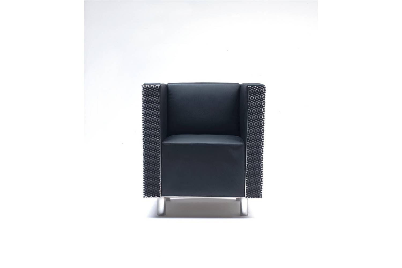 Bridgestone Armchair by Shiro Kuramata for Living Divani