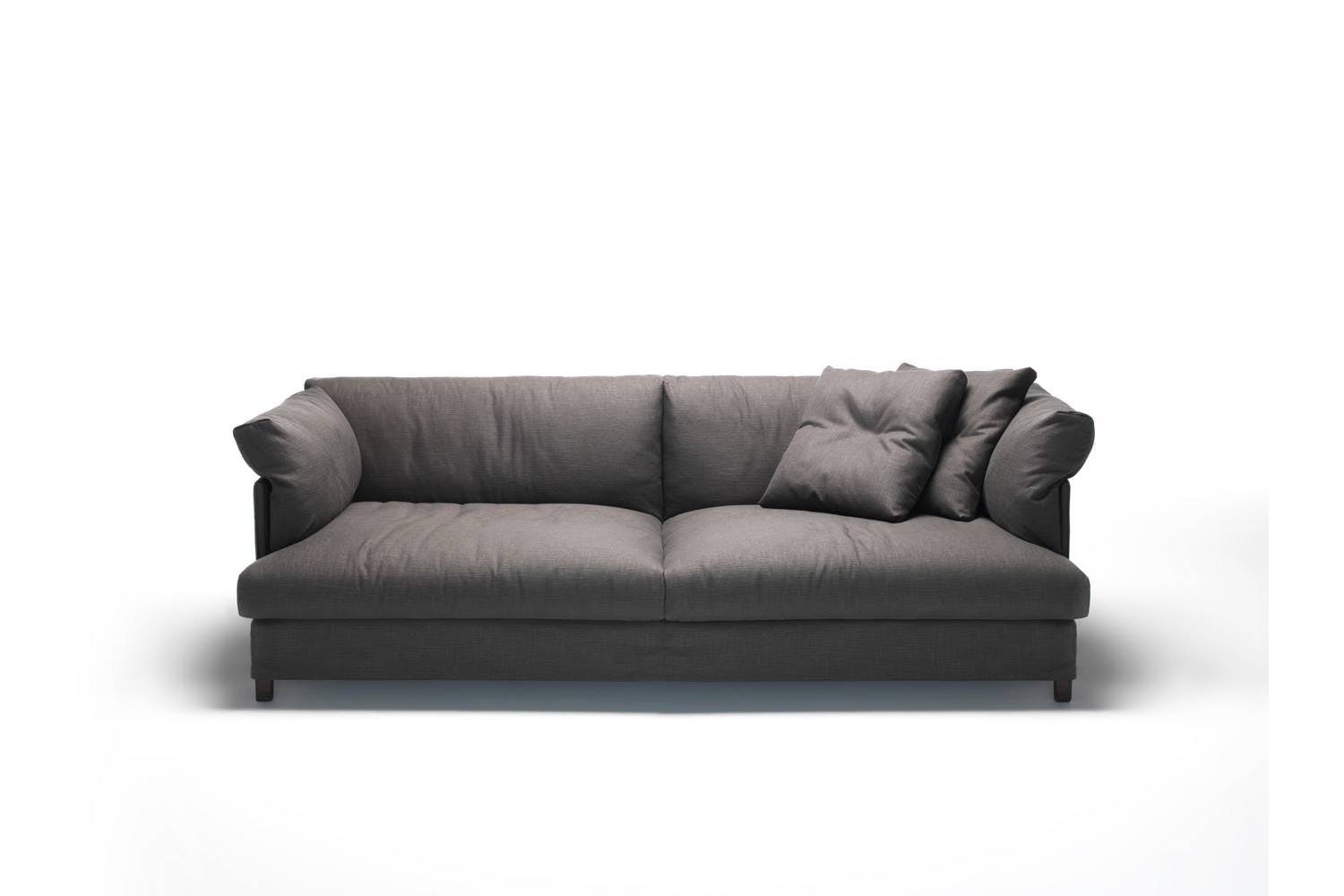 chemise xl sofa by piero lissoni for living divani space furniture. Black Bedroom Furniture Sets. Home Design Ideas