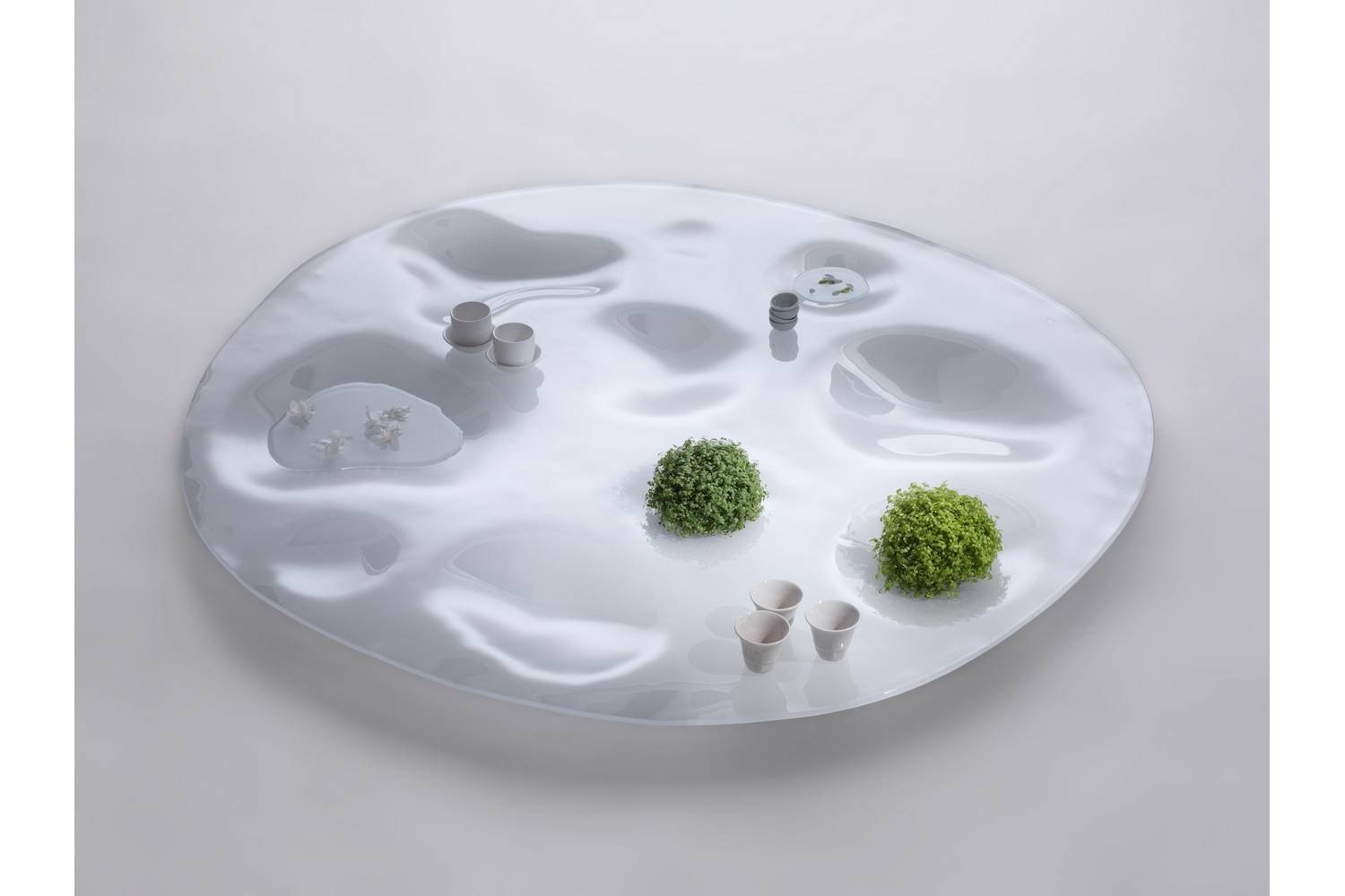 Garden Plate Coffee Table by Junya Ishigami for Living Divani