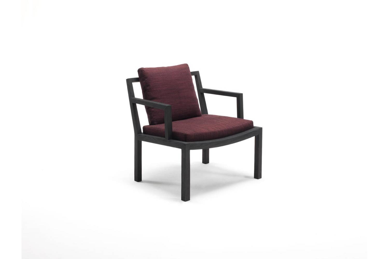 Gray Armchair by Piero Lissoni for Living Divani