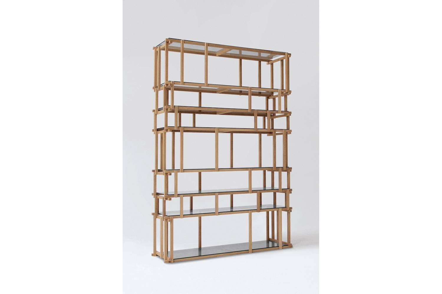Off Cut Bookcase by Nathan Yong for Living Divani