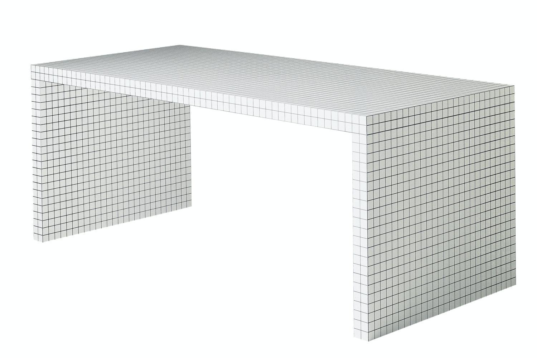 Quaderna 2830 Desk by Superstudio for Zanotta