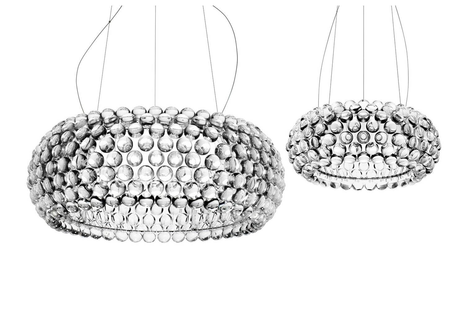Caboche Media Led caboche media led suspension l by urquiola eliana