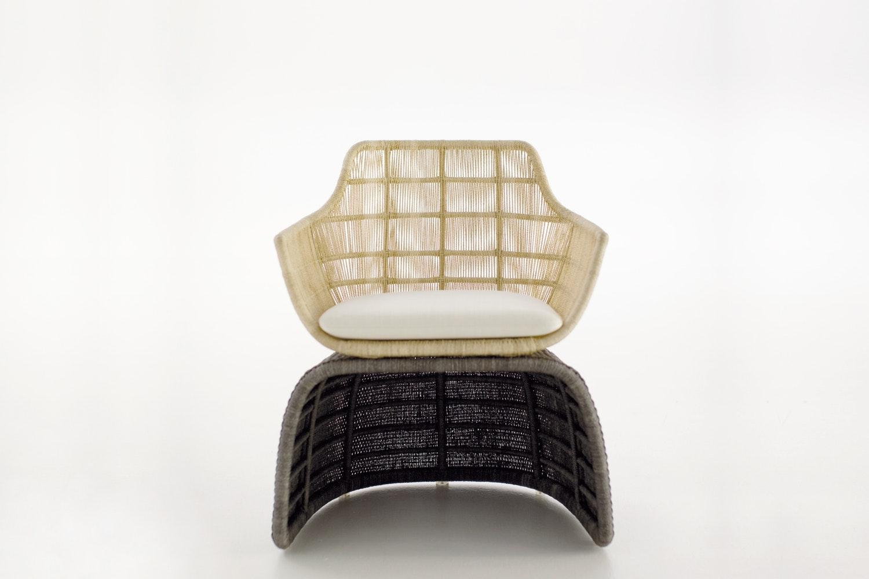 Crinoline Chair Indoor by Patricia Urquiola for B&B Italia