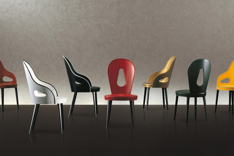 Dora Chair by Massimo Scolari for Giorgetti