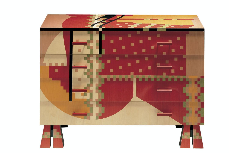 Edizioni Calamobio Chest of Drawers by Alessandro Mendini for Zanotta