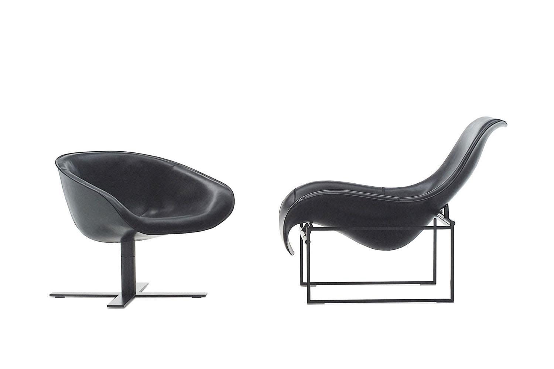mart armchair by antonio citterio for b b italia space. Black Bedroom Furniture Sets. Home Design Ideas