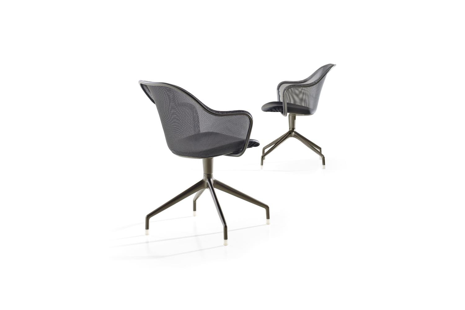 Iuta 2012 Chair with Arms by Antonio Citterio for B&B Italia