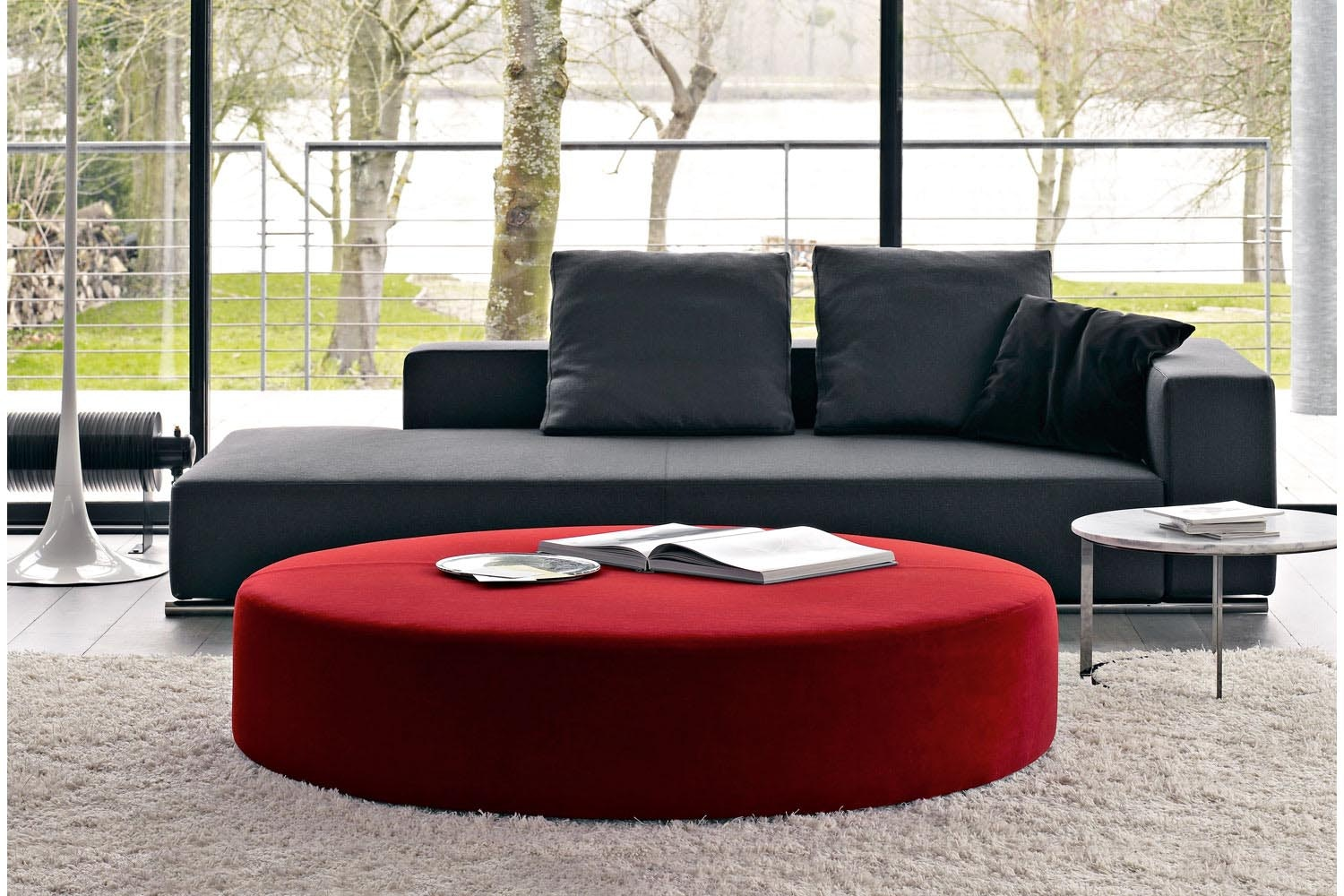 Harry Large Ottoman by Antonio Citterio for B&B Italia