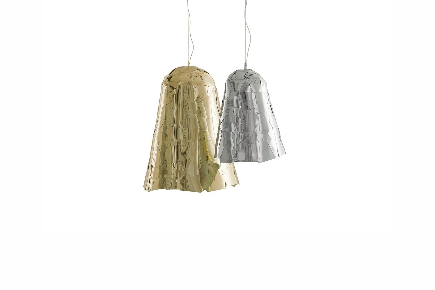 Campana Large Suspension Lamp by F. e H. Campana for Edra