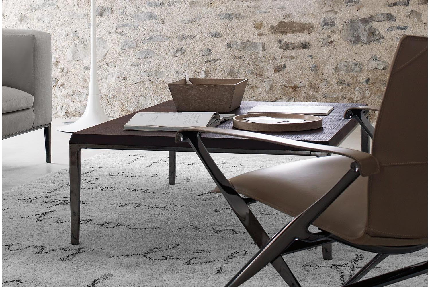 Michel Small Table by Antonio Citterio for B&B Italia