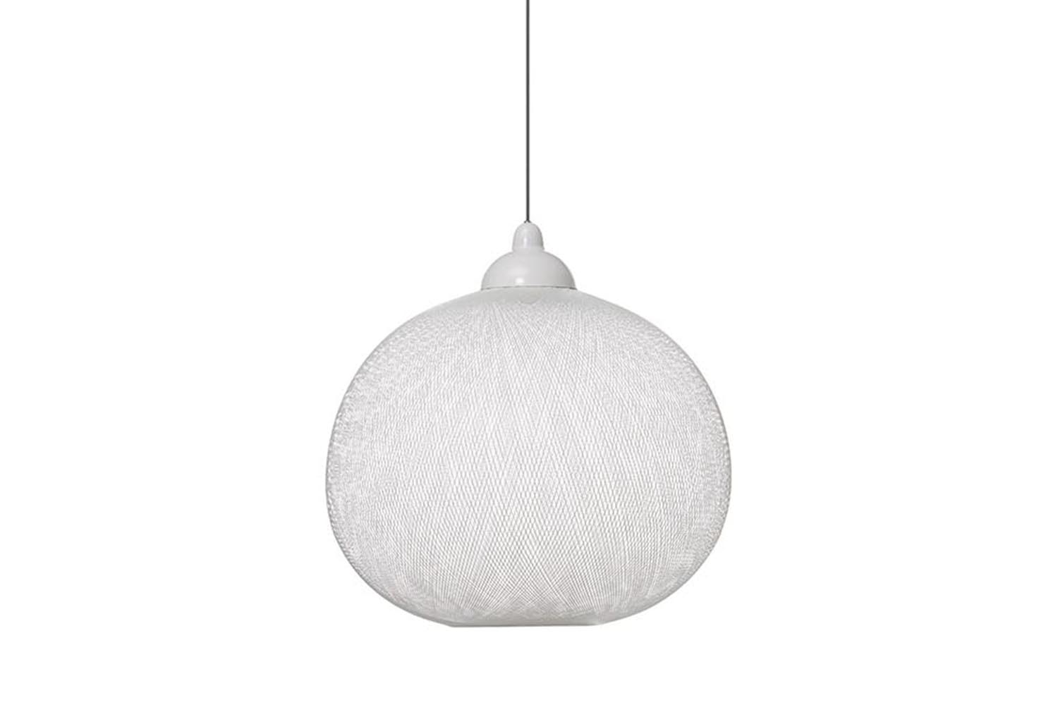 Non Random Large White Suspension Lamp by Bertjan Pot for Moooi