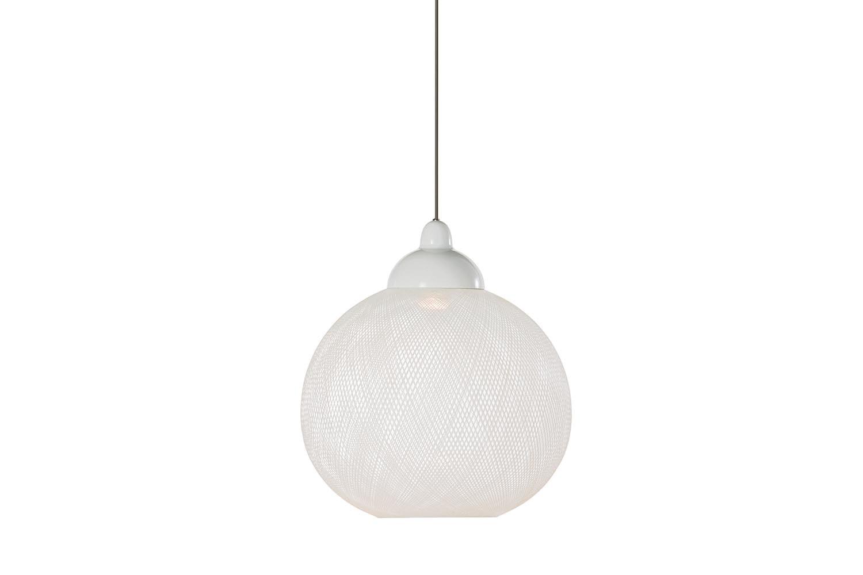 Non Random Small White Suspension Lamp by Bertjan Pot for Moooi