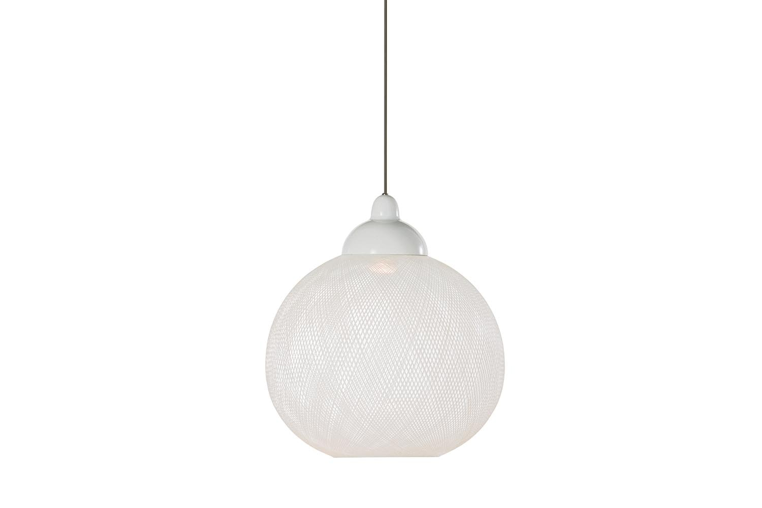 Non Random Small White Suspension Lamp by Bertjan Pot for Moooi
