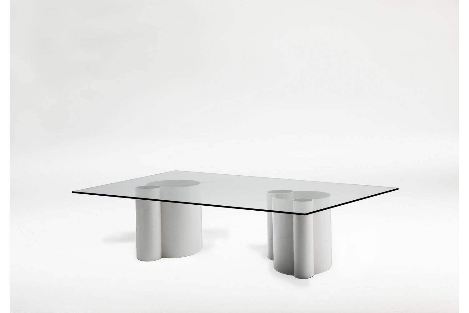 Tube Steel Coffee Table by Arik Levy for Living Divani