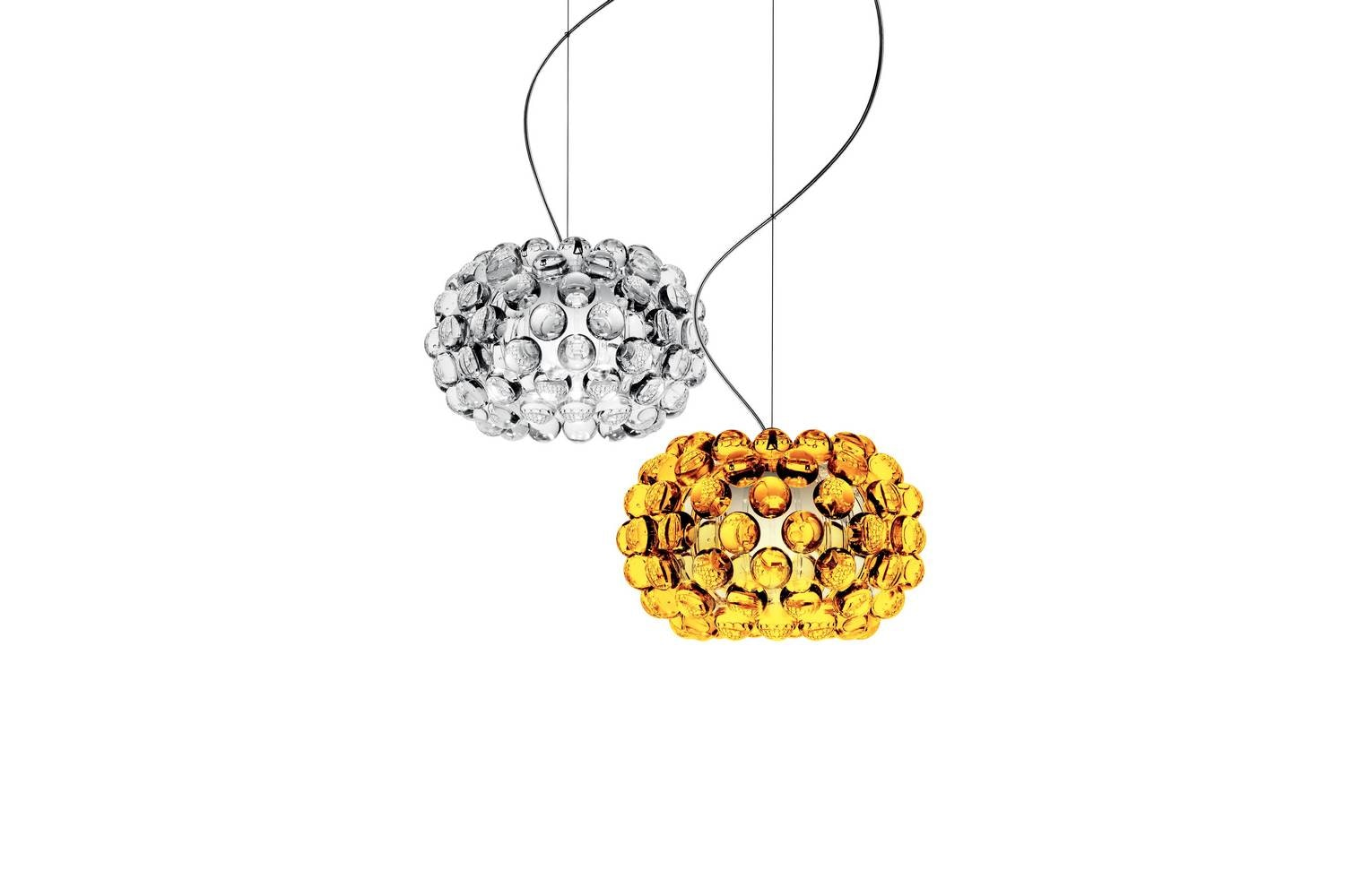 Caboche Piccola Suspension Lamp Transparent by Patricia Urquiola & Eliana Gerotto for Foscarini