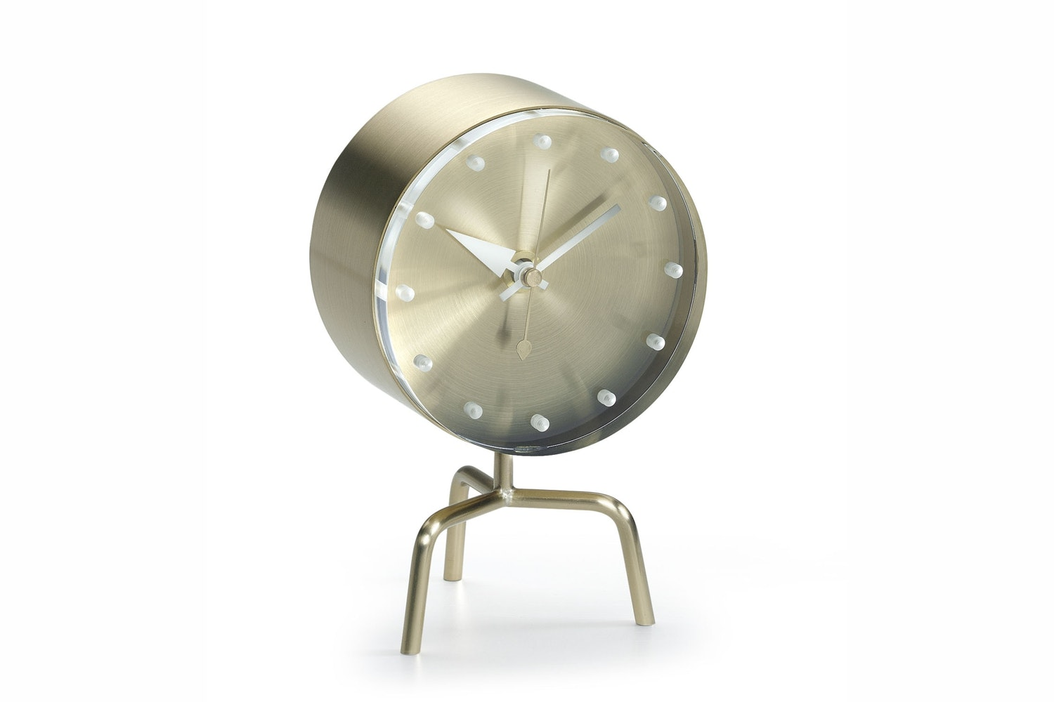 Tripod Clock by George Nelson for Vitra