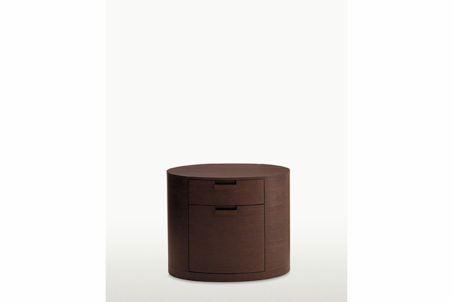 Amphora Smoked Oak Bedside Table by Antonio Citterio for Maxalto