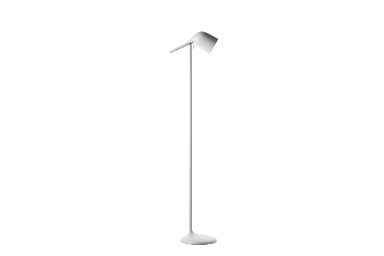 Colibri Floor Lamp White by Edoardo Fioravanti for Foscarini