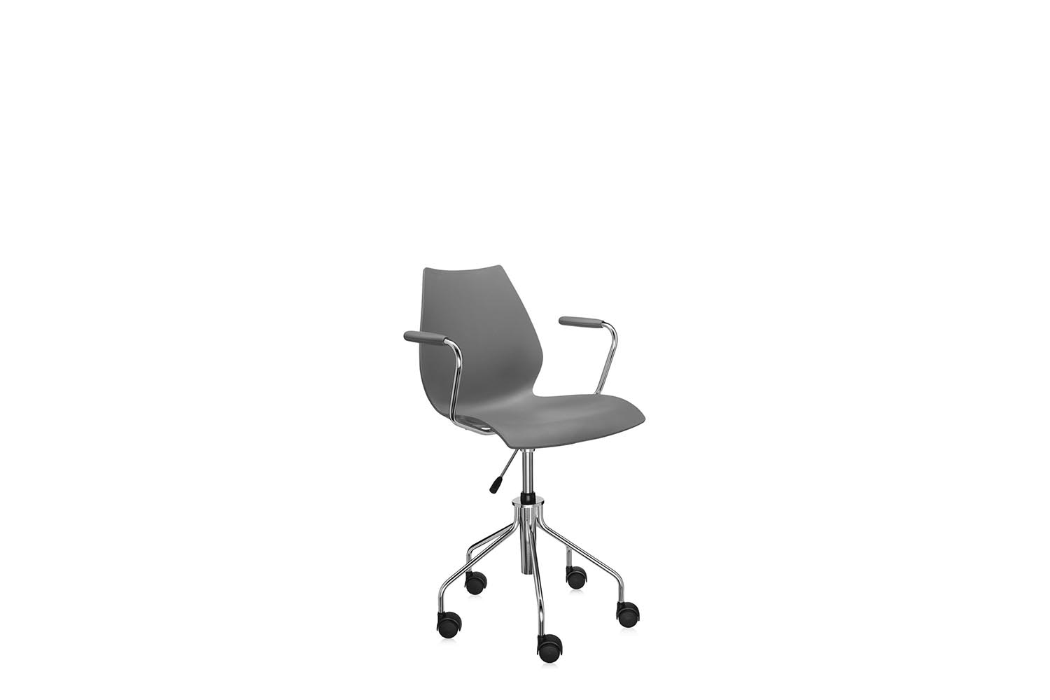 Maui Office Swivel Chair with Arms by Vico Magistretti for Kartell