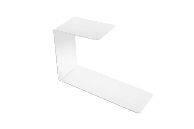 White Shelf Extension by Bruno Rainaldi for Opinion Ciatti