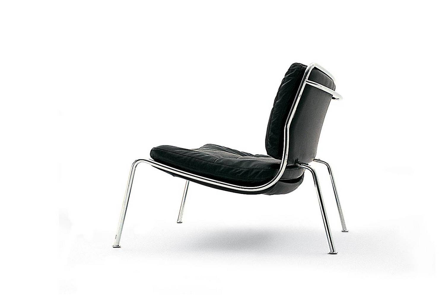 Frog Armchair in Leather by Piero Lissoni for Living Divani