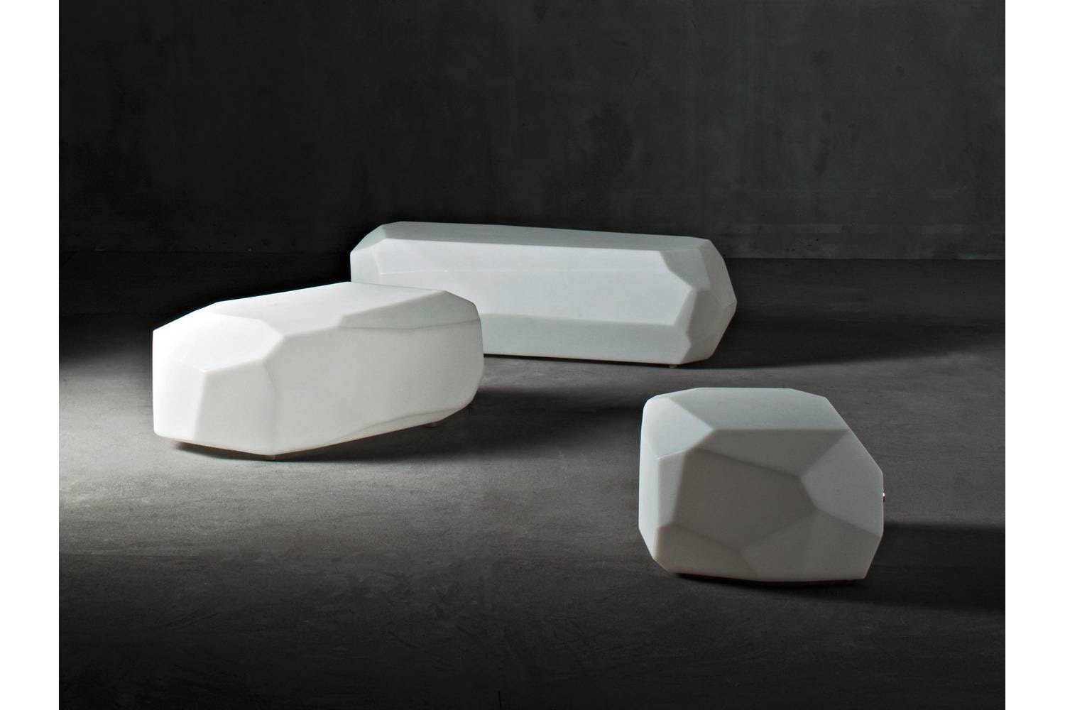 Meteor Large Coffee Table by Arik Levy for Serralunga