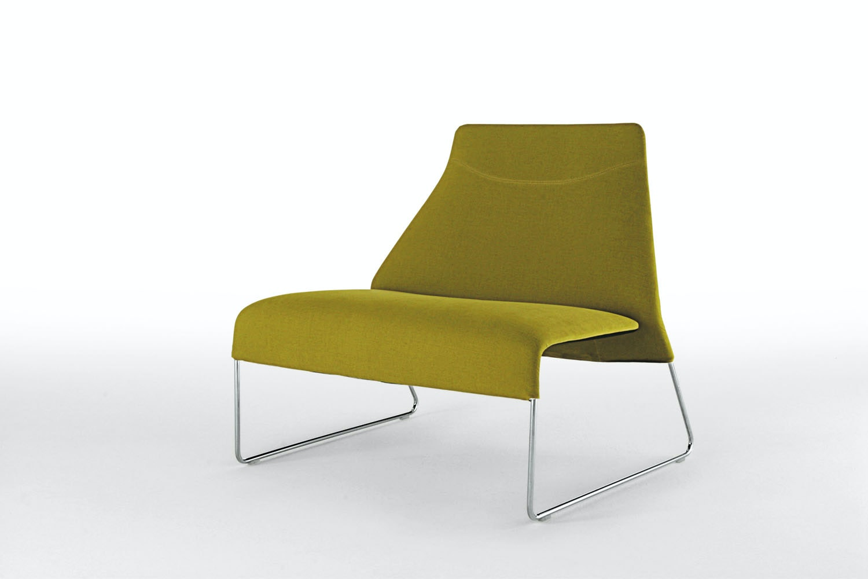 Lazy '05 Armchair in Fabric by Patricia Urquiola for B&B Italia