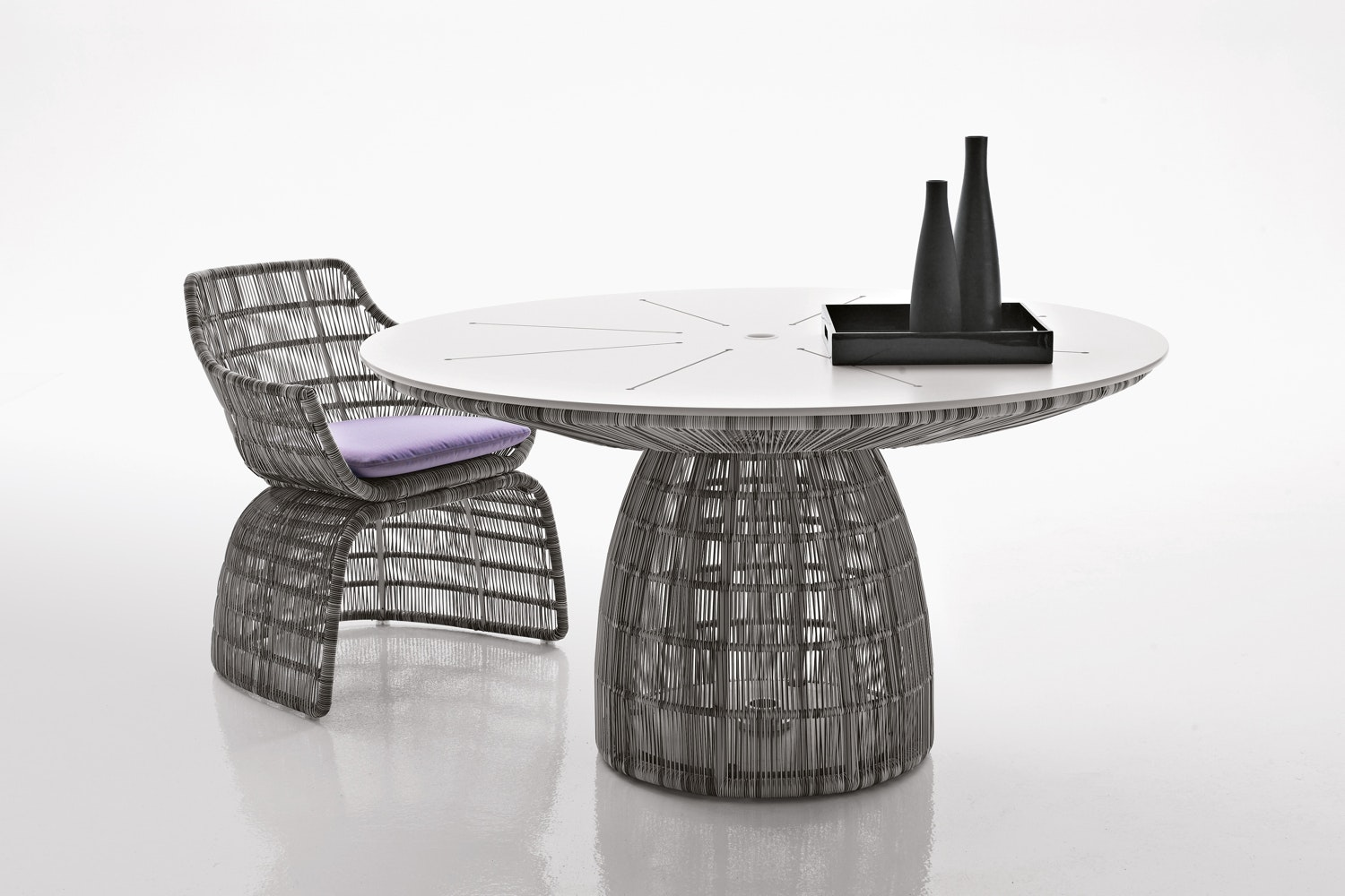 Crinoline Chair by Patricia Urquiola for B&B Italia