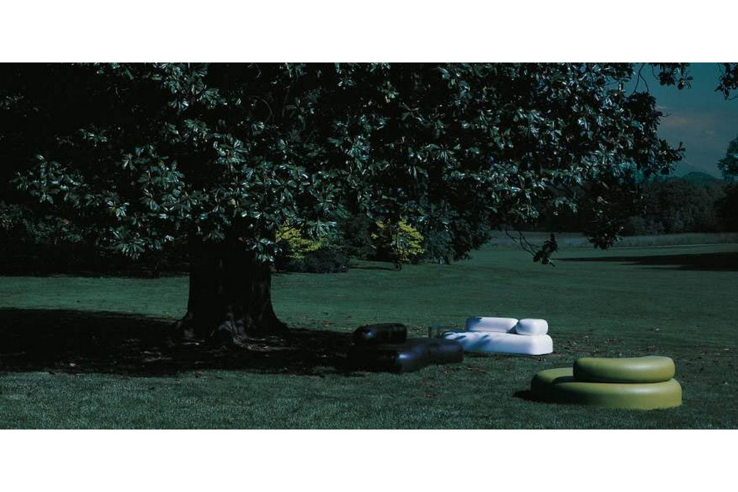 Bubble Rock Outdoor Sofa by Piero Lissoni for Living Divani