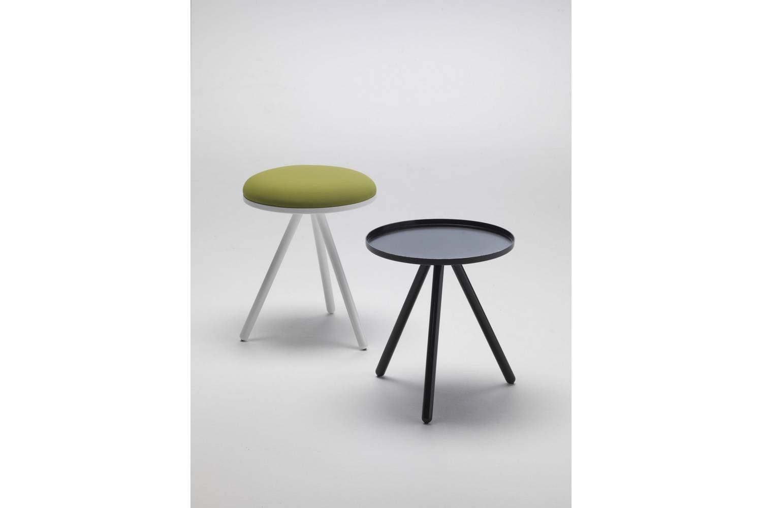 Bolle Side Table/Stool by Nathan Yong for Living Divani