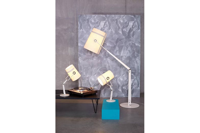 Fork Floor Lamp Ivory by Successful Living from DIESEL for Foscarini